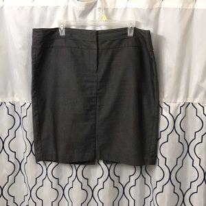 Studio Y dark grey pencil skirt